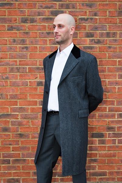 Bespoke Overcoat Tailored Coat Saviel Row Suit Tailored Suit Bespoke Suit