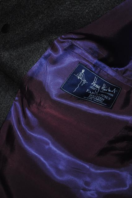 Bespoke Slim Short Overcoat 4