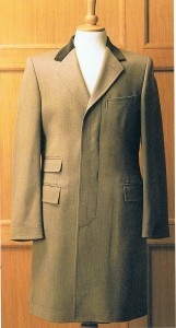 Slim and Short Overcoat