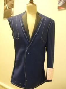 Bespoke Baste Suit Fitting