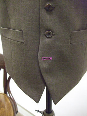 Bespoke Waistcoat with Bespoke Buttonhole Wow   what a waistcoat!