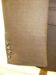 Special Bespoke Suit Cuff
