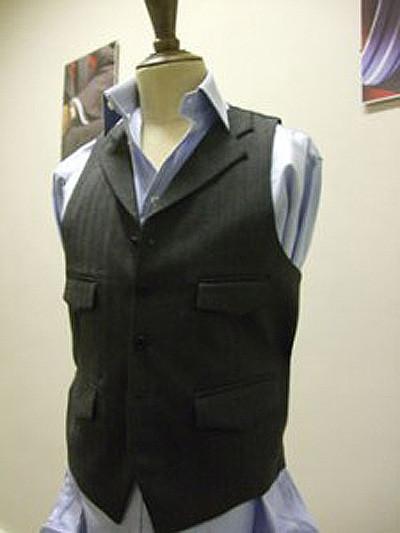 Freddie2 225x300 Bespoke Waistcoat for a Bespoke Band!