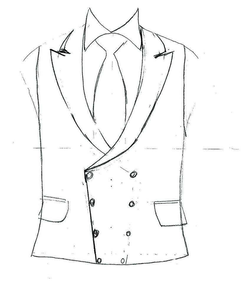 Savile Row Bespoke Waistcoat