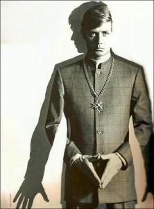 Nehru Jacket Henry Herbert Tailors Charlie Baker-Collingwood Savile Row Tailor Bespoke Suit