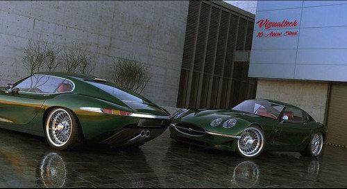 Jaguar E Type Henry Herbert Tailors Relishing the Jaguar E Type successor....