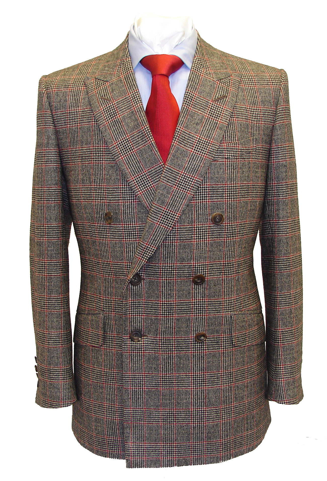 Henry Herbert Tailors Prince of Wales check