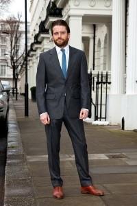 Henry Herbert Tailors Charcoal Grey Suit