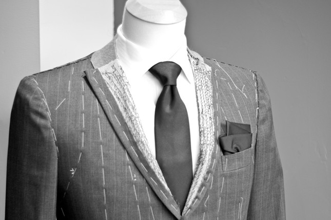 bespoke suit and bespoke tailoring