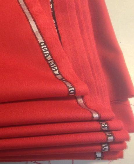 Bespoke Red Fabric 2 From Start to Finish: A Special Request