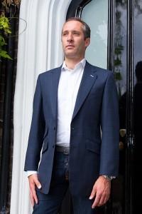 Henry Herbert Bespoke Suit for Oliver Wilkinson