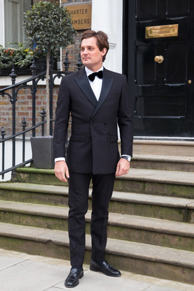 Henry Herbert Dinner Jacket 400 A Bespoke Dinner Suit