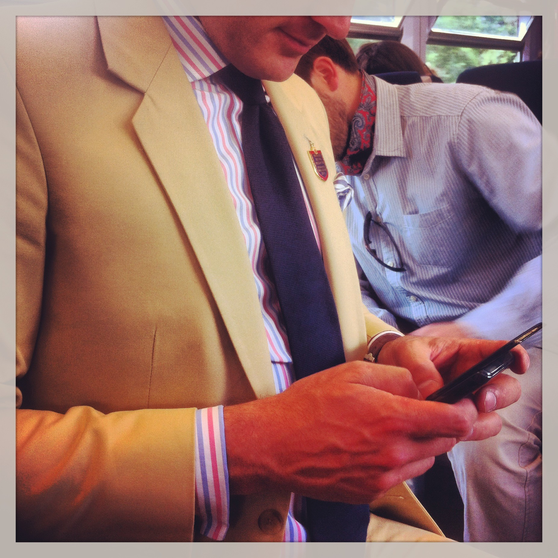 Henley Royal Regatta wear Great British Bespoke Summer Suits at Henley Royal Regatta