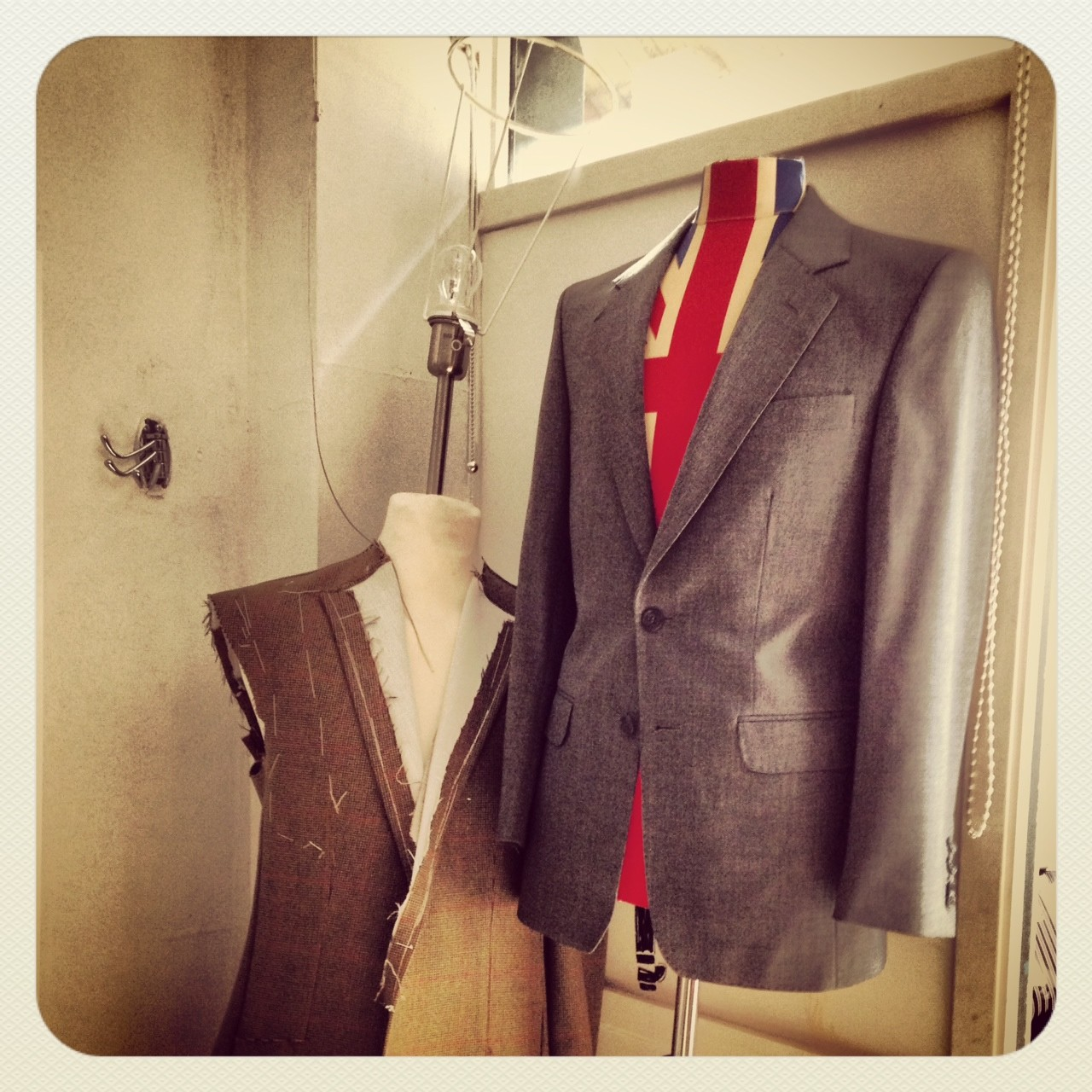 An alternative use for Savile Row bespoke tailoring!
