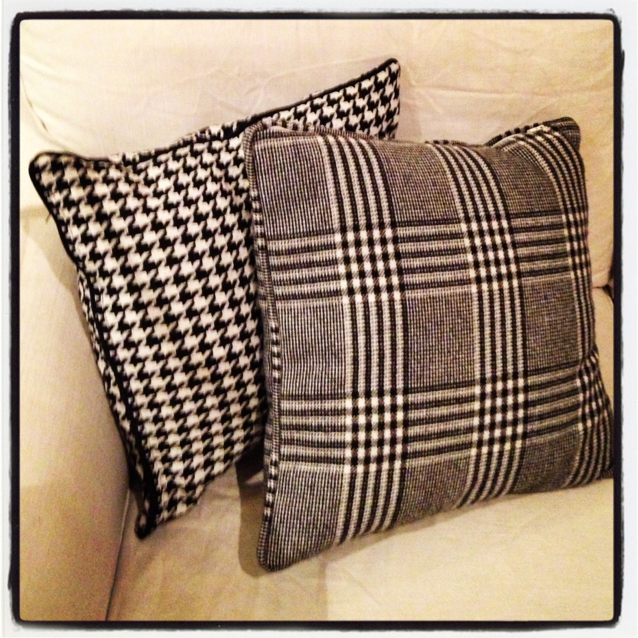 Bespoke suits and Cushions too!