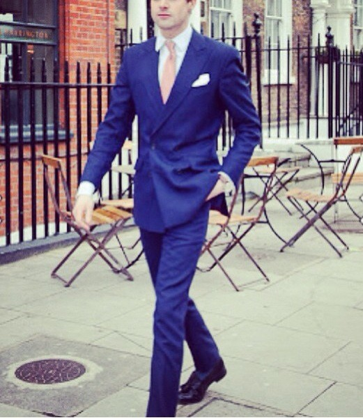 Summer style true blue DB Great British Bespoke Summer Suits: Hot Weather Style by Henry Herbert