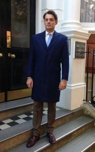 Blue Overcoat