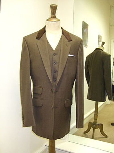 Bespoke Brown Suit