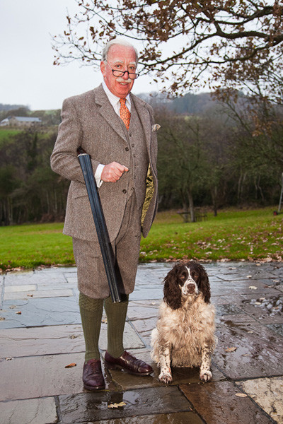 Shooting Country Suit Harris Tweed & Plus 4s by Henry Herbert Tailors