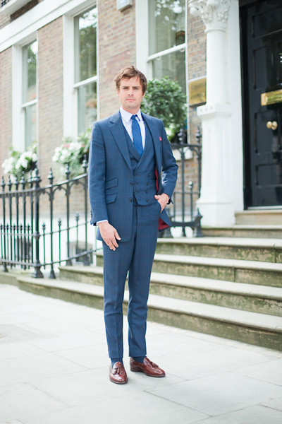 Henry Herbert Three Piece Suit