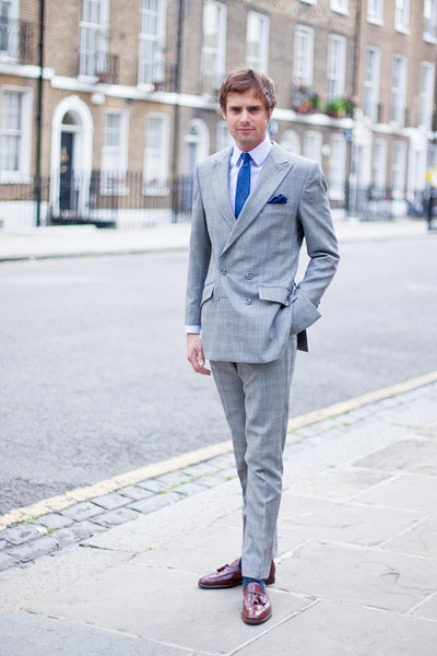 Double-Breasted Wedding Suit | Bespoke Suits By Savile Row Tailors