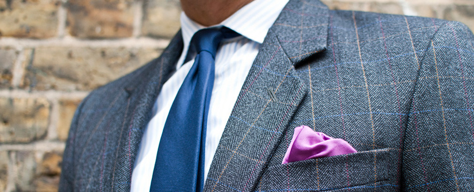Pocket Square Five Things to Consider When Choosing a Bespoke Suit