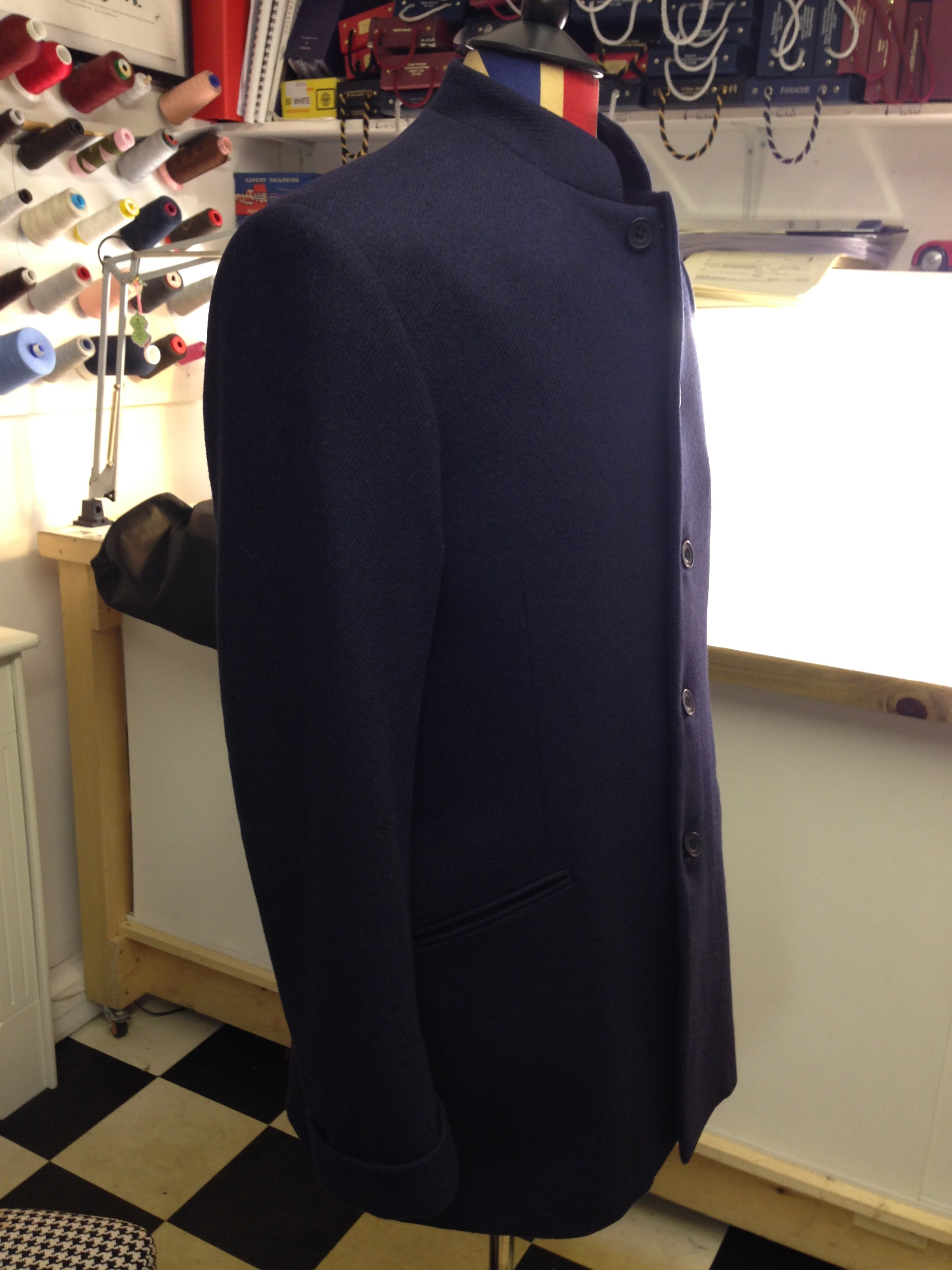The Bespoke Mens Winter Jacket   Nehru style