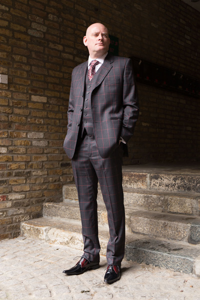 Jonathan for Herry Herbert small067 Window Pane Suit