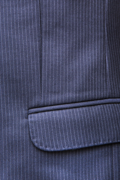 Pocket detail of London Cut Suit