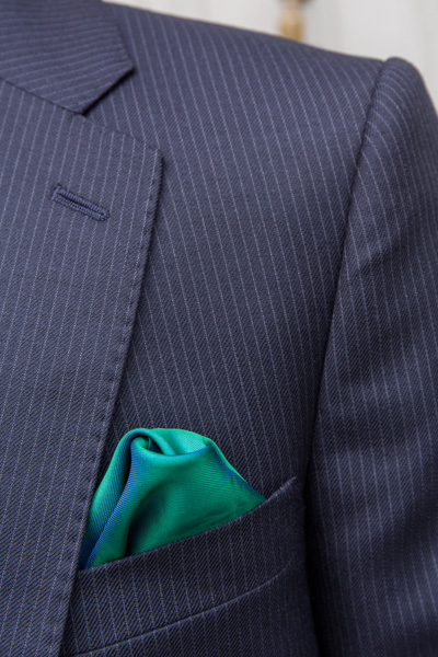 Handkerchief in London Cut suit