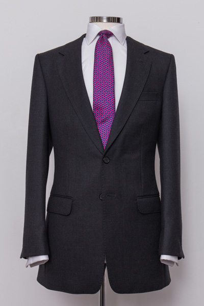 Classic Grey Charcoal Suit