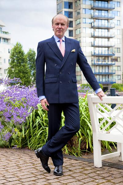 Henry Herbert Bespoke Stripe Suit