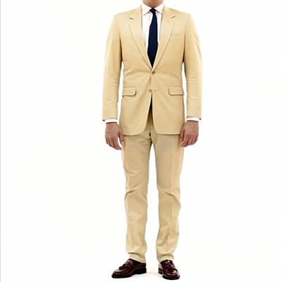 Bespoke Cream Suit