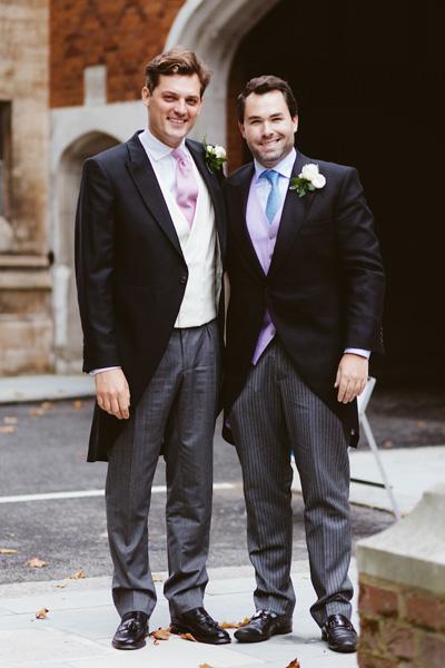 Two Bespoke Wedding Morning Suits