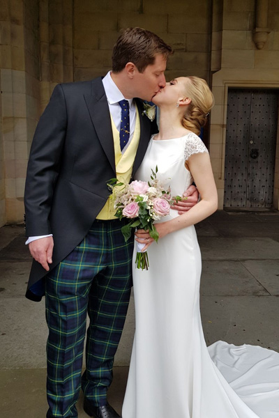 Bespoke Wedding Morning Suit and trousers