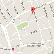 Grays Inn Road Map
