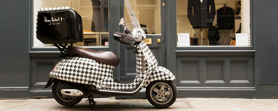 Savile Row by Scooter