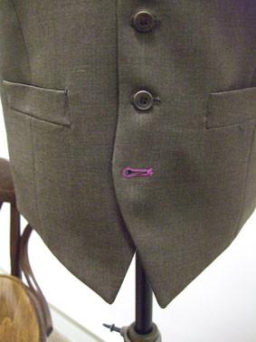 Bespoke Waistcoat with Bespoke Buttonhole