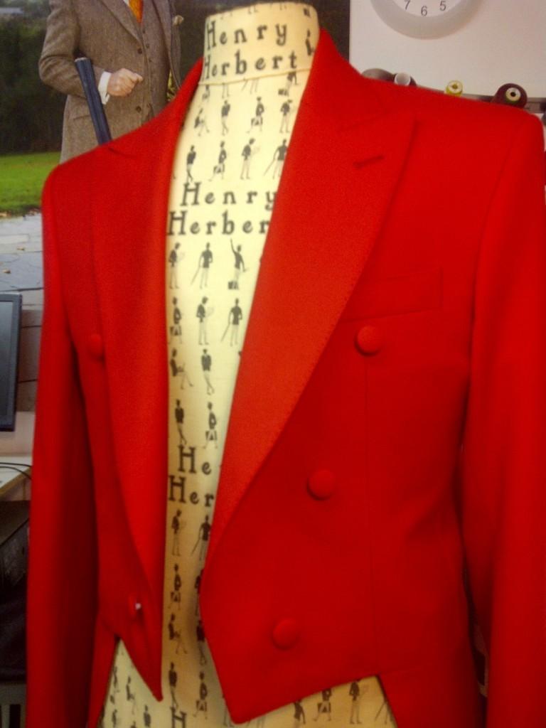 Finito! A Bespoke Tailcoat by Henry Herbert