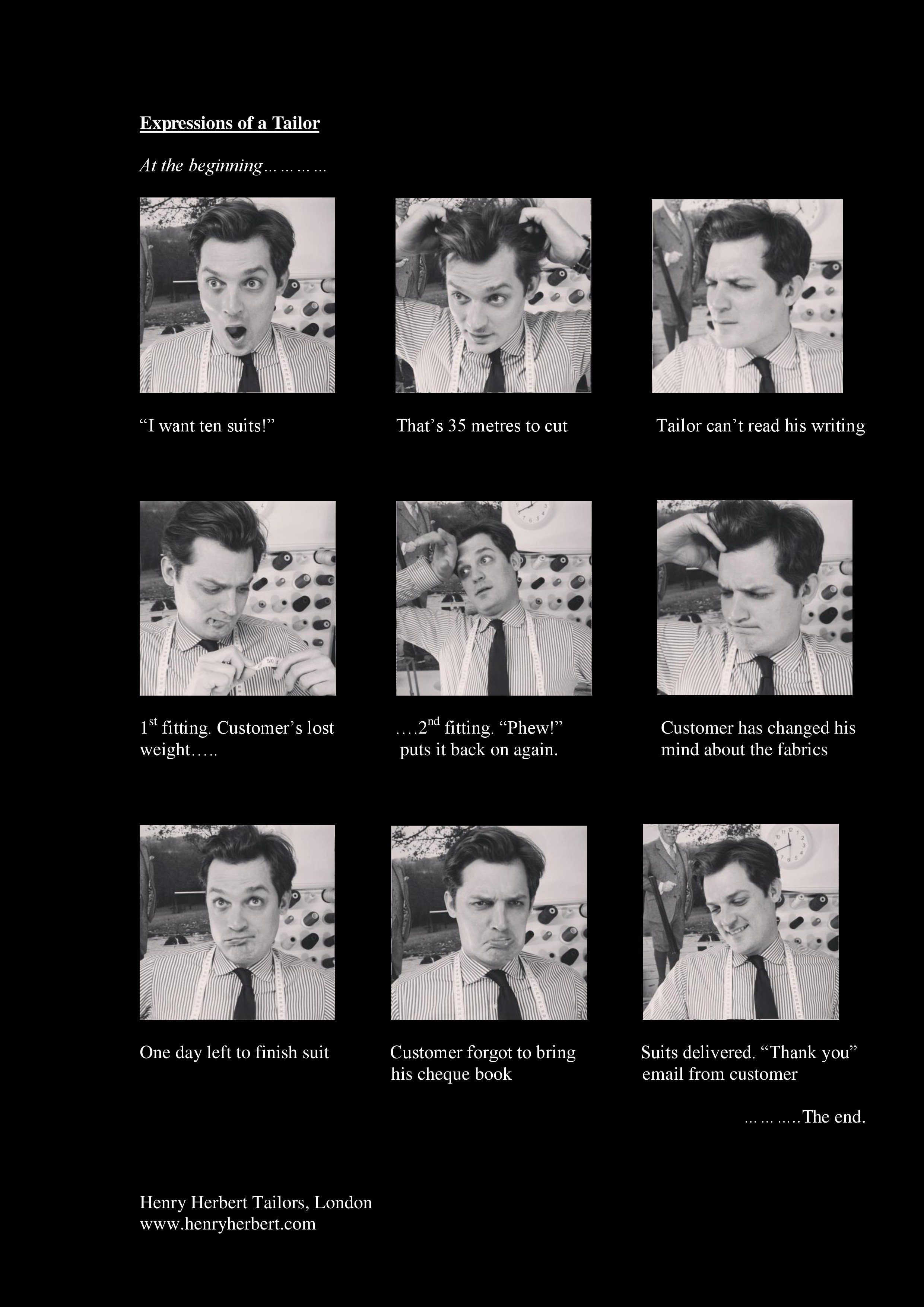 Expressions of a Tailor