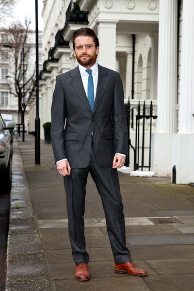 Charcoal Grey Suit Tailoring