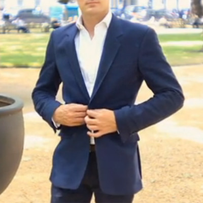 Bespoke Blue Sports Jacket