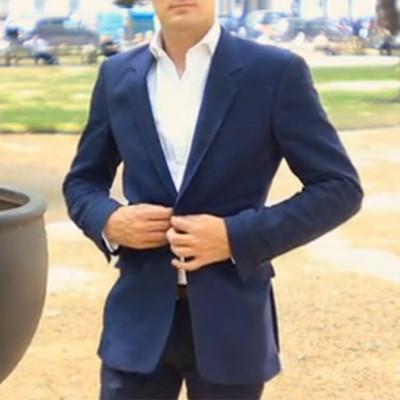 Bespoke Blue Sports Jacket