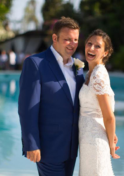 Bespoke Blue Wedding Suit