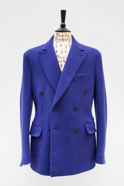Bespoke Italian Sports Jacket by Henry Herbert Tailors