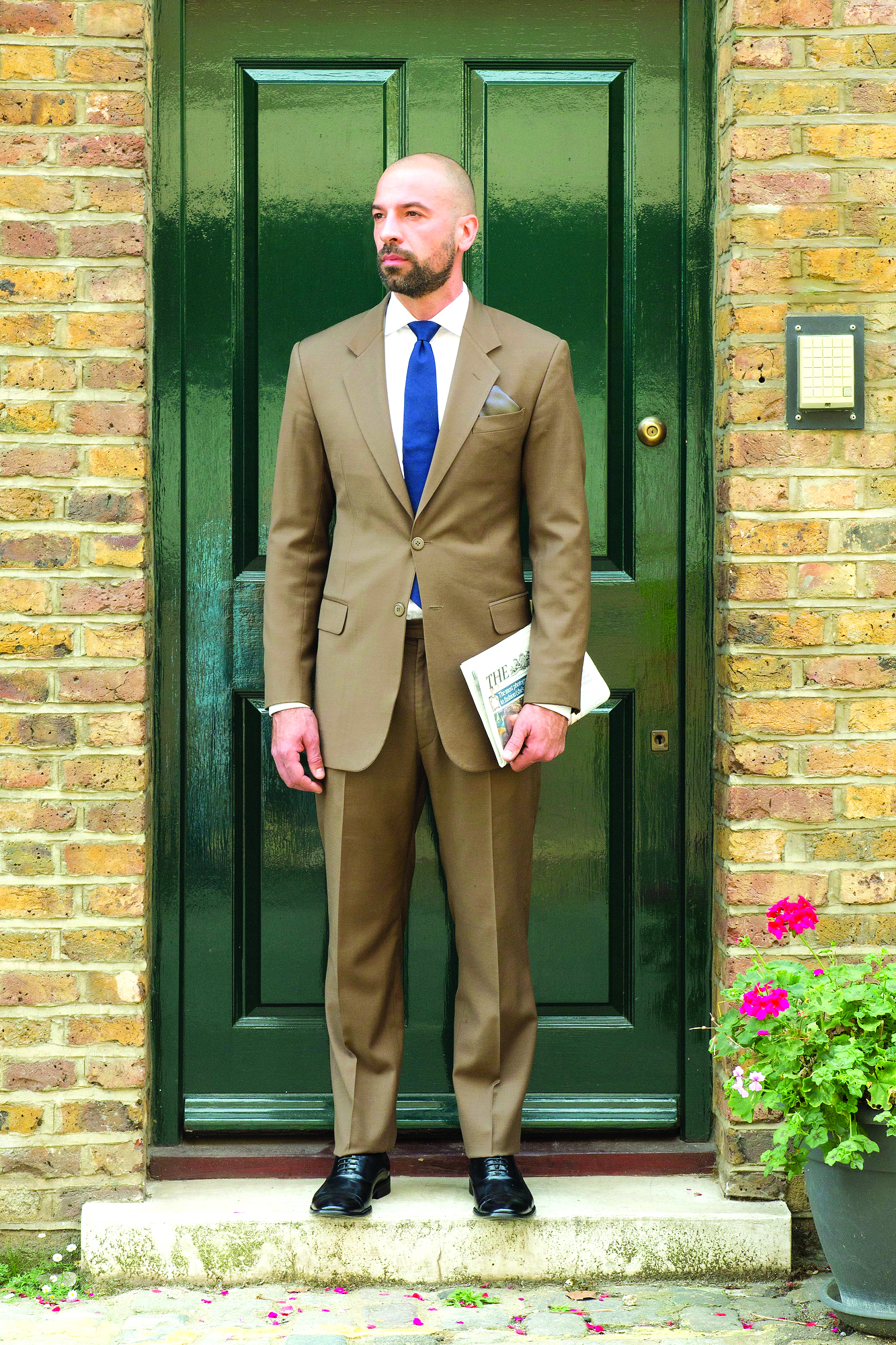 Brown Suit Tailoring