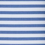 Blue and White Classic Stripe