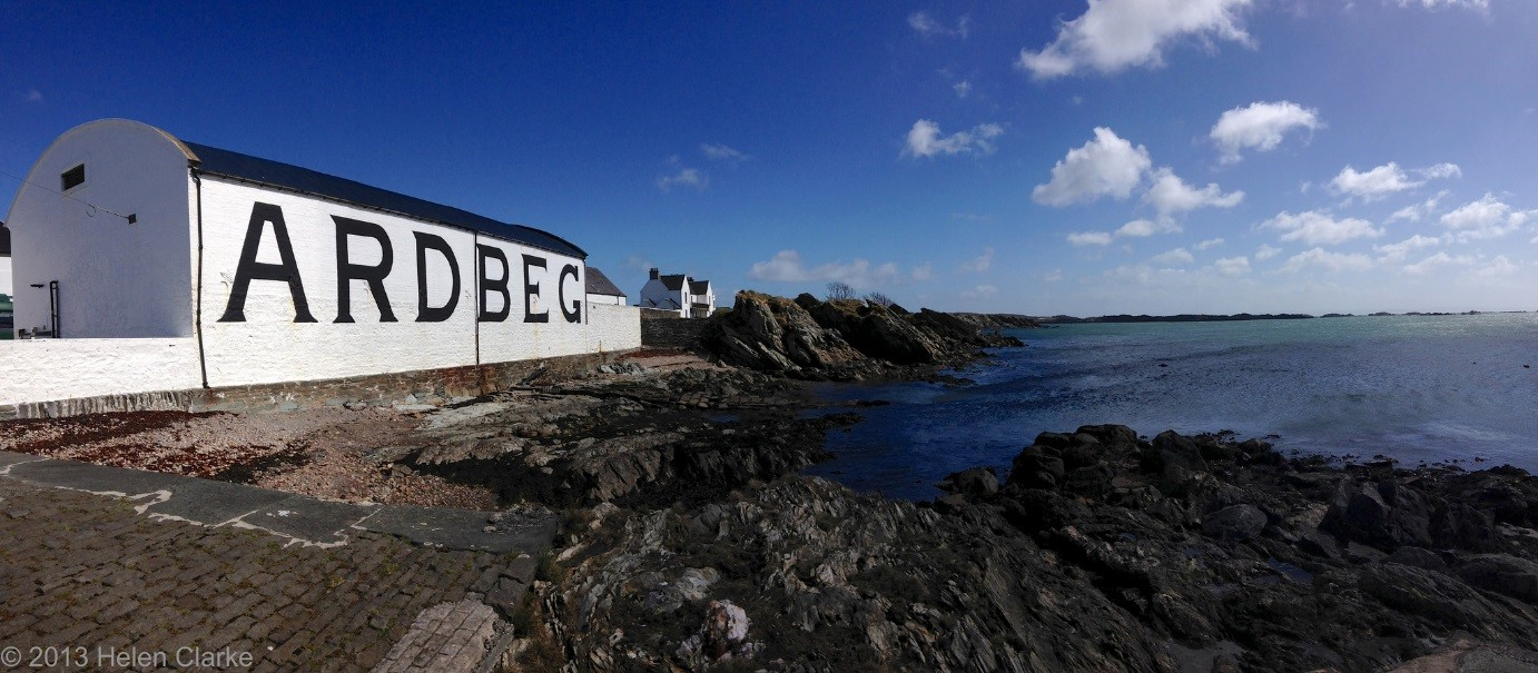 The Ardbeg distillery, founded in 1815. From Flickr.