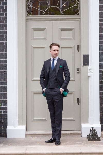Henry Herbert Bespoke London Cut Suit