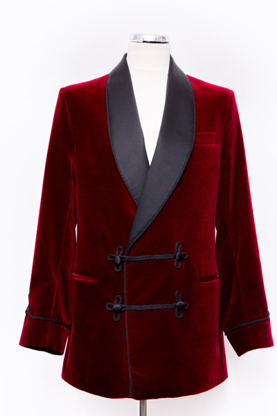 Henry Herbert Bespoke Smoking Jacket